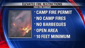 Elevated fire restrictions begin Monday in San Bernardino National Forest