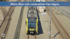 Metro Blue Line closure begins Saturday