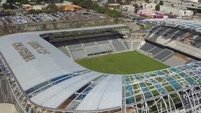 LA Football Club makes its home debut