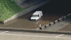 Major flooding in Compton shuts down roadways