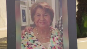 Family of grandmother killed seeks public's help in finding suspect