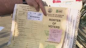 Voter Roster Found