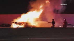 3 killed in fiery crash on 605 Freeway in Santa Fe Springs