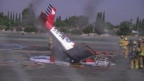 Pilot killed in small plane crash near El Monte airport