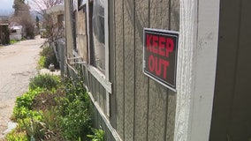 Abandoned mobile home park becomes magnet for squatters