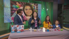 'Slime Queen' Karina Garcia demonstrates DIY slime on GDLA