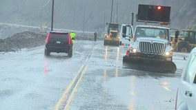 Portion of Pacific Coast Highway closed in Malibu due to mudslide, flooding