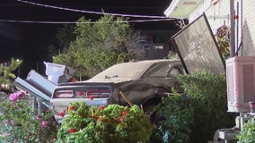 Police: Driver under the influence crashes into Redlands home