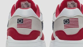Nike faces backlash after abruptly pulling American flag shoes