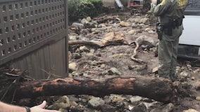 Mudslides causing road closures in Malibu area