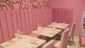 First ever Hello Kitty Grand Cafe opens in Irvine