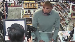 Police ask for public's help in catching violent gas station robber