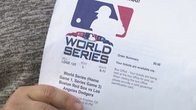 Fake World Series Game Tickets