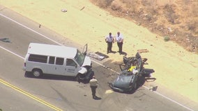 Two-vehicle crash kills four people in Palmdale