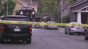 Two killed, two wounded in Aliso Viejo shooting, suspect at large