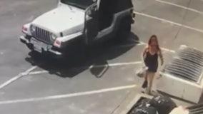 Woman seen dumping puppies in Coachella