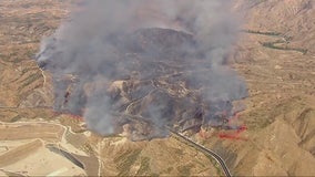 'Manzanita' wildfire scorches 1200 acres south of Beaumont