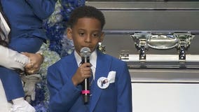 Kameron Carter shares dream of Nipsey Hussle during rapper's 'Celebration of Life' service