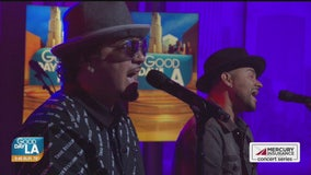 Baby Bash & Frankie J. perform live on Good Day LA + backstage interview