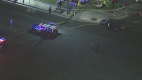 Streets closed after teen was hit by car, taken to hospital in Brea