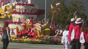 Last day to view Rose Parade floats in Pasadena
