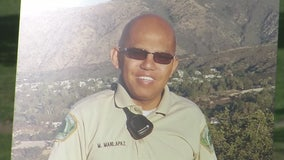 Vigil for Cal Poly Pomona campus police officer