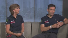 Veterans Adele Loar & John Mayhead discuss upcoming wounded vets walk from LA to NYC
