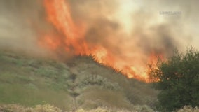 Star Fire burning in Chino Hills now 100 percent contained, 156 acres burned
