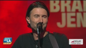 Brandon Jenner performs on Good Day LA