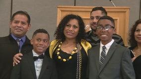 Mom of 2 overcomes odds to graduate Cal State LA