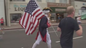 Annual 4th of July parade today in Huntington Beach