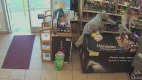 Armed suspect wanted in two robberies at Palmdale convenience store