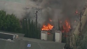 Dozens displaced after fire at apartment building in Arcadia