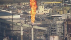 Power interruption prompts burnoff at Chevron refinery in El Segundo