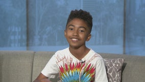 Miles Brown talks 'Black-ish,' Jr. NBA reporting and teaches us a dance move