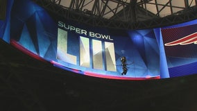 Mercedes Benz stadium gets ready for the Super Bowl