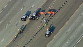 1 killed, 1 hurt in 210 Freeway shooting in San Bernardino