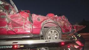 Woman, 9-year-old girl killed in crash on 22 Freeway