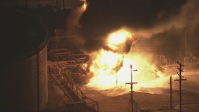 Explosion sparks fire at Chevron refinery in El Segundo