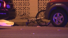 Bicyclist dead after being struck by hit-and-run driver in Fountain Valley