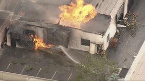 South El Monte building fire