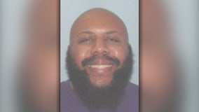 Search widens for Facebook murder suspect, 911 call released
