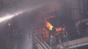 Crews battle fire at Phillips 66 refinery in Carson - Latest
