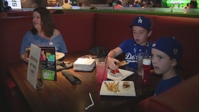 Local restaurant throws kids World Series watch party