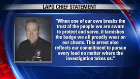 LAPD officer arrested for two alleged rapes