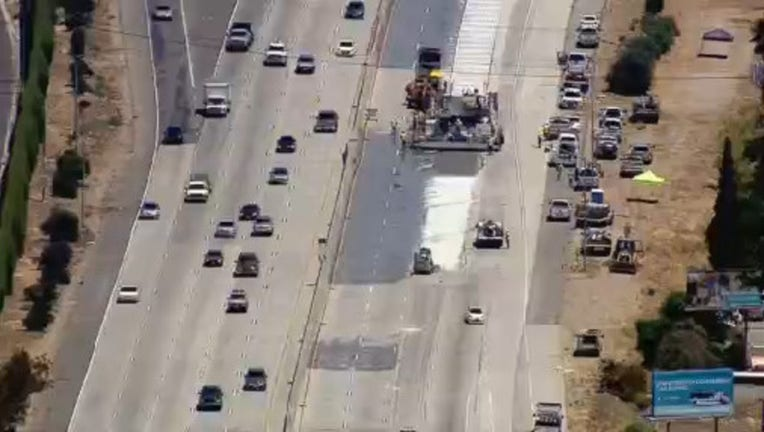 First weekend of 'Swarm' project shuts down eastbound 60