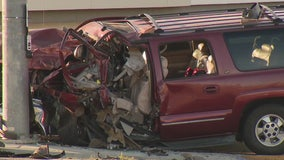 Mother killed, three children injured after suspected DUI crash in Lancaster