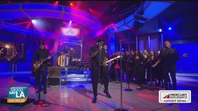 Vintage Trouble performs live on Good Day LA + backstage interview
