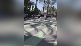 Loud noise causes panic, fears of active shooter at Anaheim Convention Center