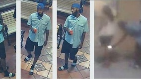 Palmdale detectives searching for man accused of taking up-skirt photos of woman at Metrolink station